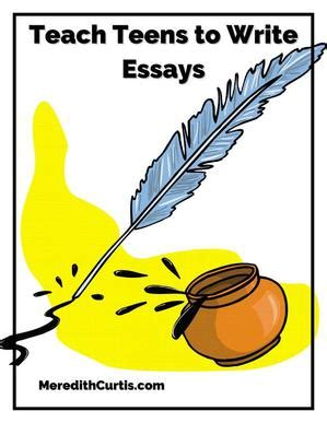 Teaching Essay Writing - The Write Foundation